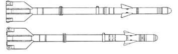 Р-3Р (вверху) и Р-3С (внизу)
