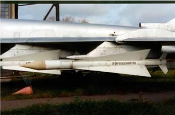 Р-4Р перехватчика Ту-128 (фото В.Друшлякова)