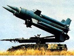 "Ракета-мишень ""Вираж"" на базе ЗРК ""Круг"" (фото из журнала ""Военный Парад"")"