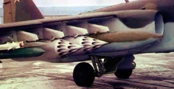 """НАР С-8 в контейнере Б8М1 (фото из журнала """"Военный Парад"""")"""