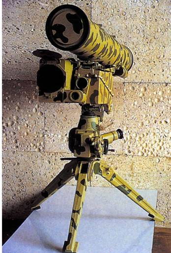 """""""Метис-2"""" (фото из журнала """"Военный Парад"""")"""