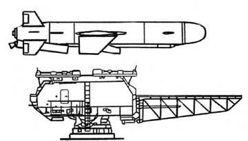 Ракета КСЩ и корабельная ПУ