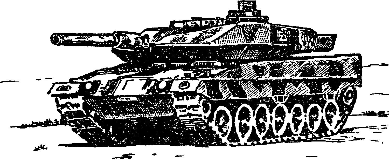 "Танк ""Леопард–2"""