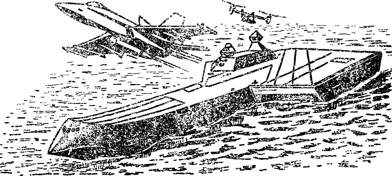 Аэродромы в море