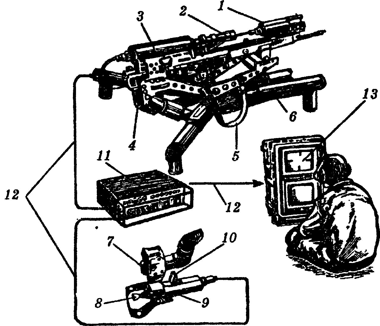 Дистанционно управляемая снайперская установка TRAP Т2: 1