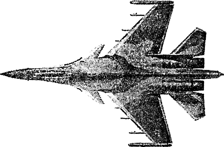Истребитель Су–37