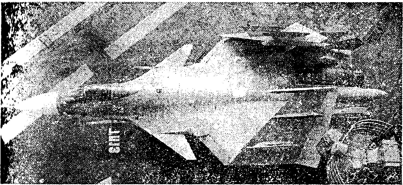 Истребитель корабелънсго базирования Су–27 К