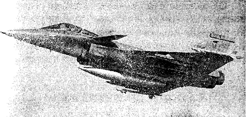 """Истребитель """"Рафалъ"""" в полете"""