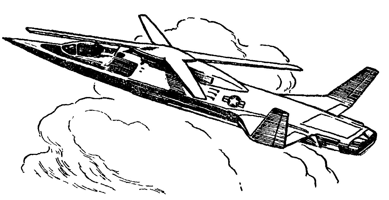 Перспективный вертолет–ротокрыл