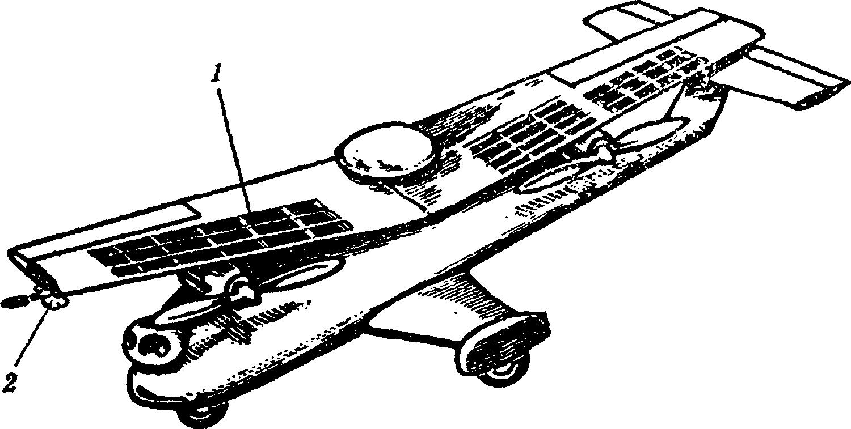 Беспилотный аэромобилъ с поворотным крылом: 1