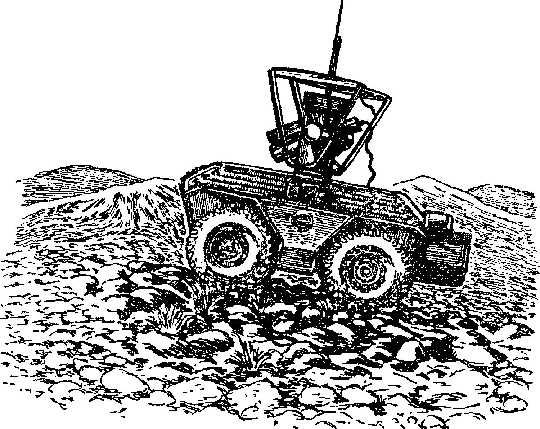 Боевой робот–разведчик