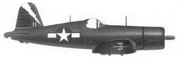 53. Истребитель F4U-1C «белый 11» лейтенанта Джо Д. Роббинса, эскадрилья VF-85, авианосец «Шангри-Ла», май 1945г.