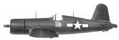 59. Истребитель F4U-4 «белый 13» Bu№80879 кэптена Кеннета А. Уэлша, эскадрилья VMF-222, Окинава, июнь 1945г.
