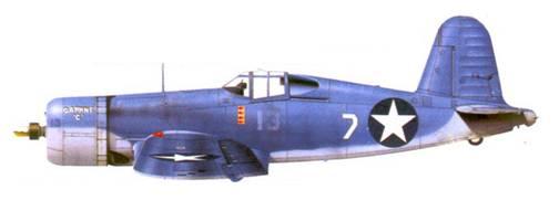 F4U-1 Джеймса Н. Каппа, Гуадалканал, июль 1943г.