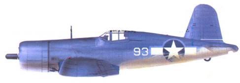 F4U-1A Эдвина Л. Олэндера, Велла-Лавелла/Торокина, январь 1943г.