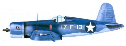 F4U-1A Джеймса А. Хэлфорода, «Банкер Хилл», август 1943г.