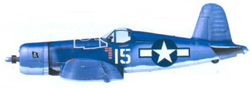 F4U-1A Дэниэла Г. Каннигхэма, Ондонга, ноябрь 1943г.
