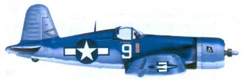 F4U-1A Мерли У. Дэвенпорта, Ондонга, ноябрь 1943г.