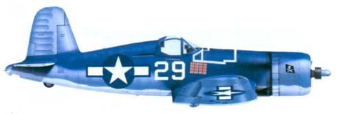 F4U-1A Айры С. Кинфорда, Бугенвилль, февраль 1944г.