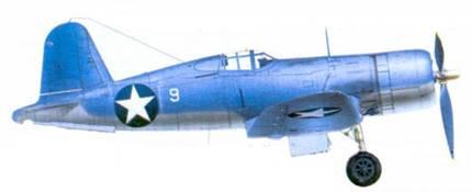 F4U-1A Грегори Дж. Вейссенбергера, Гуадалканал, июнь 1943г.