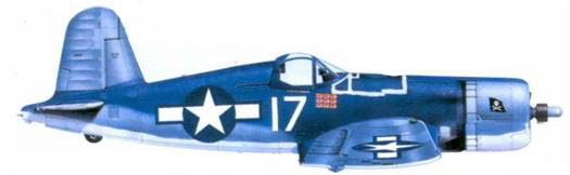 F4U-1A Роджера Р. Хедрайка, Бугенвиль, март 1944г.