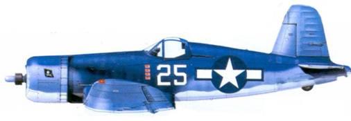 F4U-1A Гэрри А. Мэрча, Бугенвилль, май 1944г.