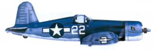 F4U-1A Джона М. Смита, Бугенвилль, февраль 1944г.
