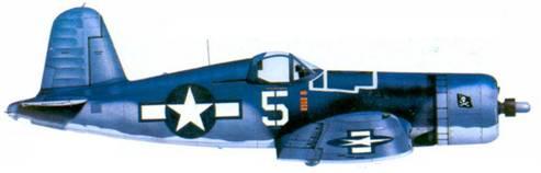 F4U-1A Томаса Кифлера, Бугенвилль, февраль 1944г.