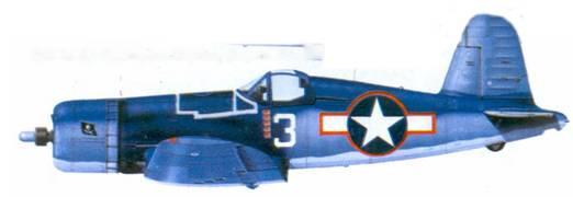 F4U-1A Фредерика Дж. Стрейга, февраль 1944г.