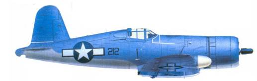 F4U-1A Ховарда У. Боллмэна, остров Сайпан, апрель 1944г.