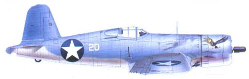 F4U-1 Фон Р. Гарисона, Гуадалканал, июль 1943г.