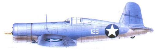 F4U-1 Дональдо Л. Бэлча, Гуадалканал, июль 1943г.