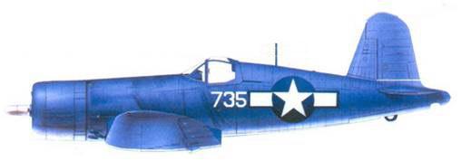 F4U-1 Артура Р. Конэнта, Баракома/Торокина, январь 1944г