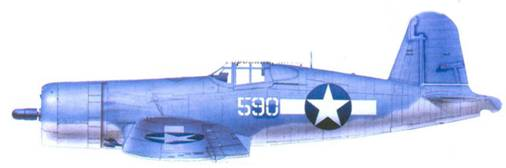 F4U-1 Артура Р. Конэнта, Баракома/Торокина, январь 1944г.