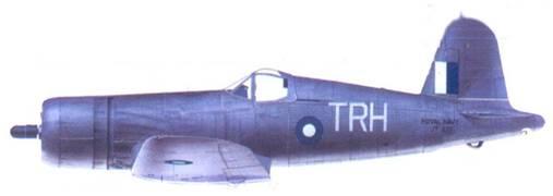 «Корсар II» Рональд С. Хэй, авианосец «Викториес», январь 1945г.