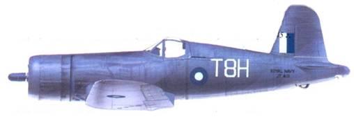 «Корсар II» Дональда Дж. Шеппарда, авианосец «Викториес», январь 1945г.
