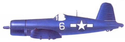 F4U-1D Джо Д. Роббинса, авианосец «Шангри-Ла», декабрь 1945г.