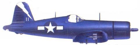 F4U-1C Джо Д. Роббинса, авианосец «Шангри-Ла», май 1945г.