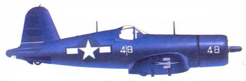 F4U-1D Джека Броиринга, октябрь 1944г.— март 1945г.