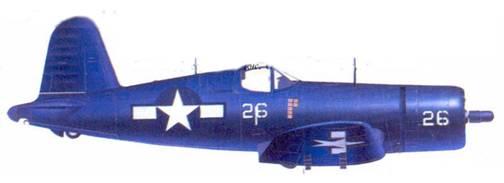 F4U — 1D Джеримайи Дж. О'Кифи, Окинава, май 1945г.