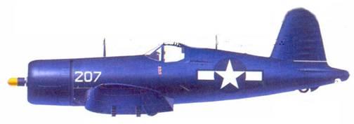 F4U — 1D Мэрвина С Бристоу, Окинава, май 1945г.