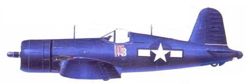 F4U — 4 Кеннета А. Уэлша, Окинава, июнь 1945г.