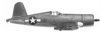32. Истребитель F4U-1A «черный 212» «Midnite Coctail» кэптена Ховарда У. Боллмэна, эскадрилья VMF(N)-532, Кэгмэн-Филд, остров Сайпан, апрель 1944г.