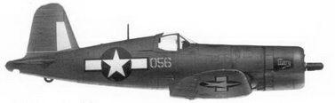 33. Истребитель FG-1A «желтый 056» «Mary» Bu№14056 кэптена Фрэнсиса И. Пирса, эскадрилья VMF-121, Пелелиу, ноябрь 1944г.