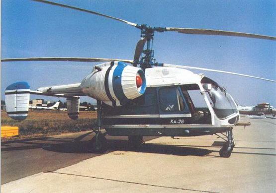 Универса/шный многоцелевой вертолет Ка-26 «Летающее шасси»
