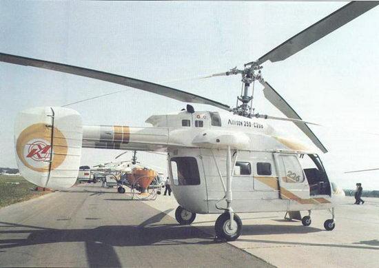 Легкий многоцелевой вертолет Ка-126 с ГТД фирмы «Аллисон» и оборудованием фирмы «Эллайд Сигнал»