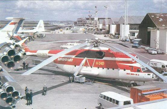 Тяжелый десантно-транспортный вертолет Ми-6