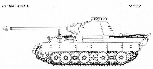 «Пантера» AusfA.