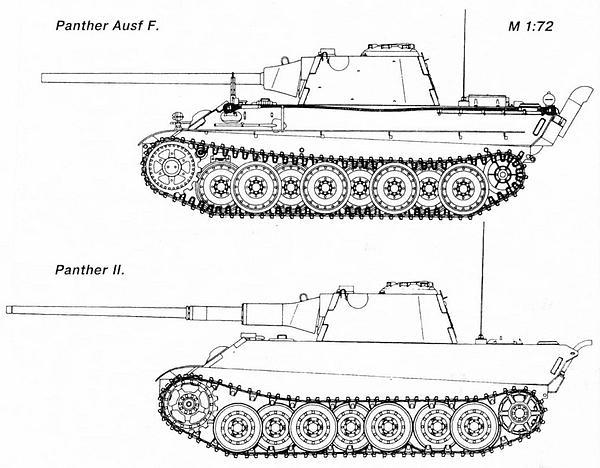 «Пантера» AusfА и «Пантера II».
