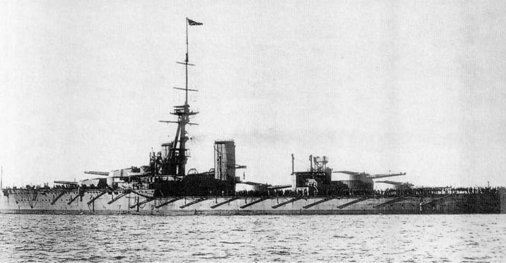 """Линейный корабль """"Орион"""" в 1911-1913 гг."""